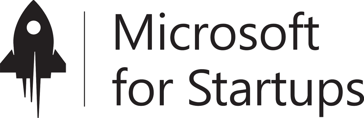 Logo Microsoft For Startups